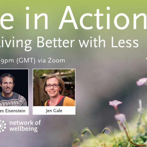 Hope in Action: Living Better with Less