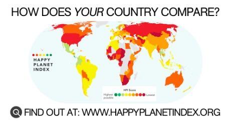Happy Planet Index 2016: Measuring Sustainable Wellbeing - Network